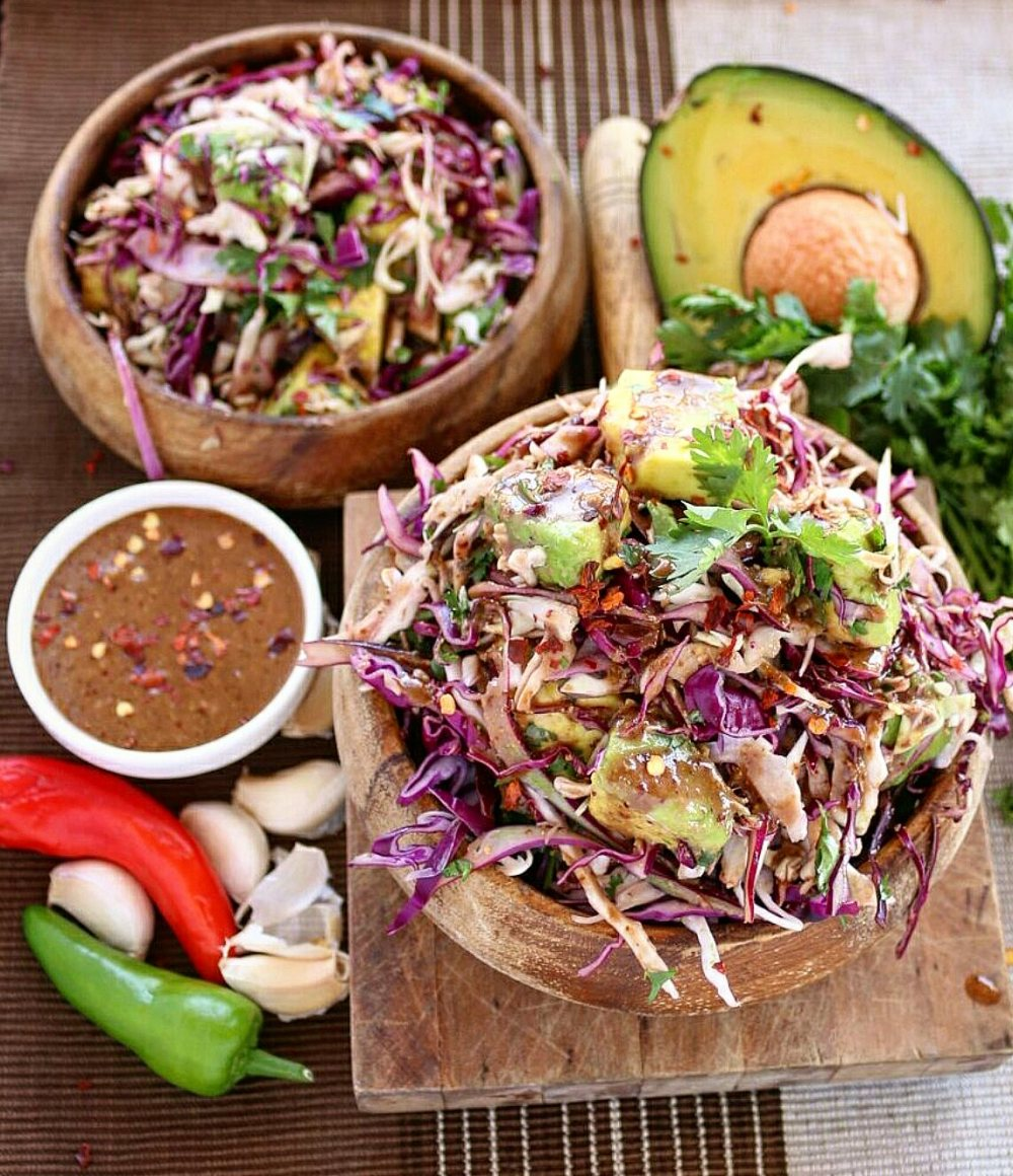 Cabbage Coleslaw With Balsamic Vinaigrette