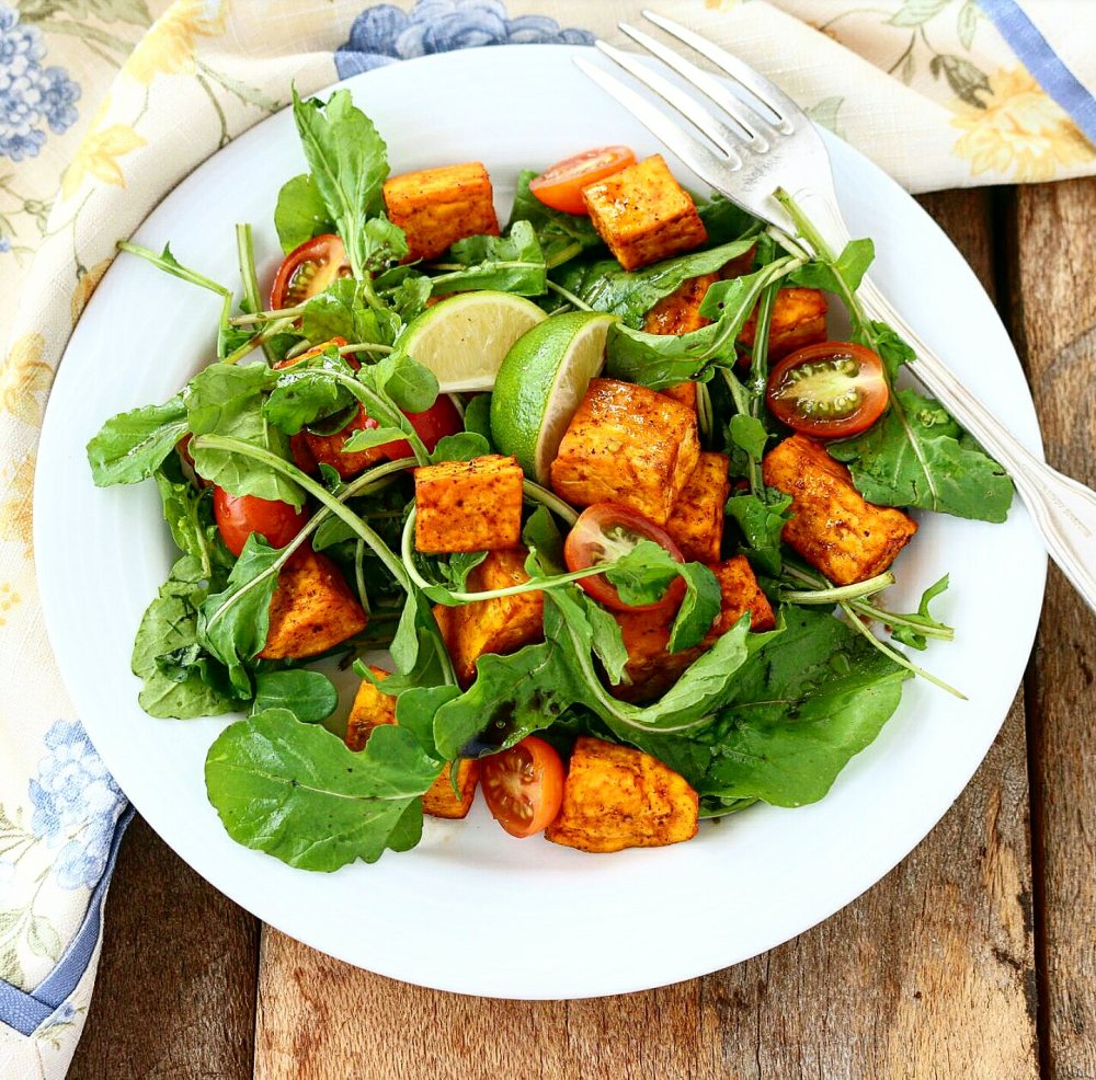 Arugula Sweet Potato Salad
