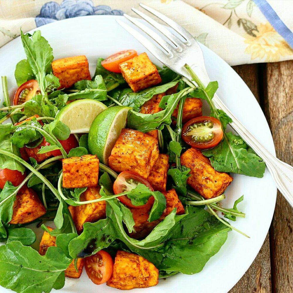 Arugula Sweet Potato Salad