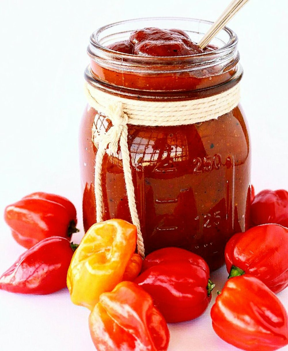 Habanero Mango Barbecue Sauce